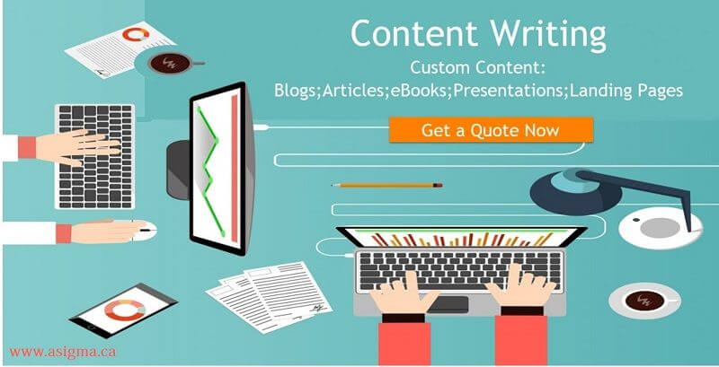 ASigma - best content writing company in Canada